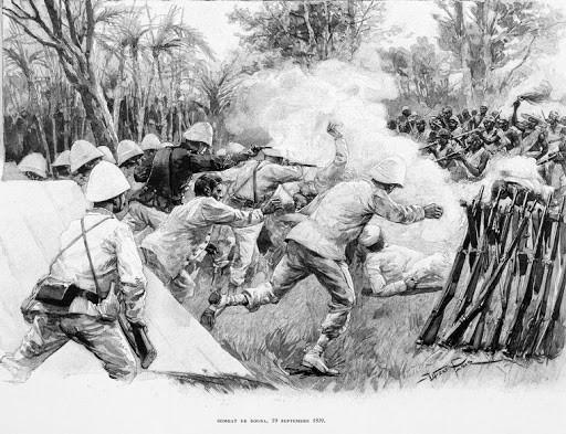 La Bataille Historique Contre L'armée Française