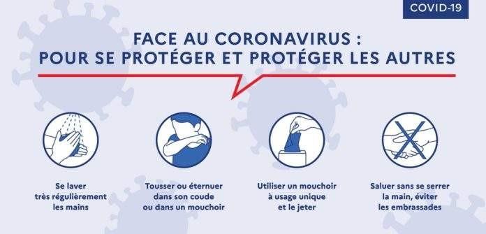 Protection contre corona virus