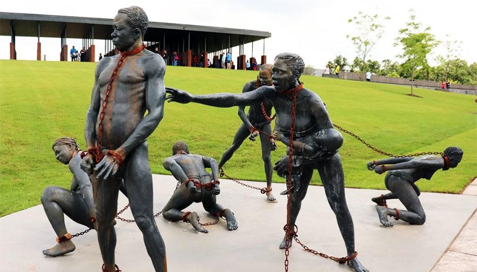 statues esclaves noirs esclavage