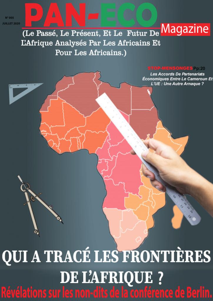 couverture magazine panafricain