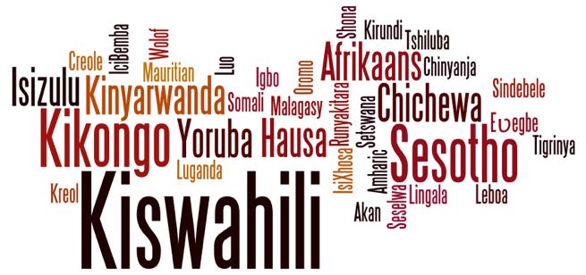 Afrique,colonisation par la langue