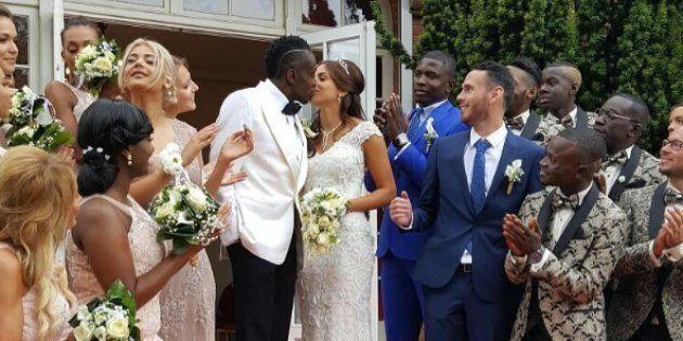 les footballeurs noirs et les femmes blanches